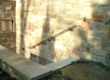 finelli architectural iron and stairs custom exterior iron wall railing in hudson ohio