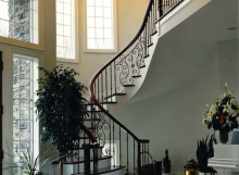 finelli architectural iron and stairs custom forged iron staircase railing traditional style in hudson ohio