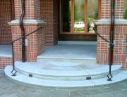 finelli iron custom handmade exterior front porch step railing in columbus ohio