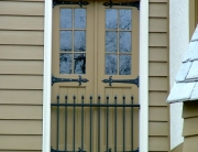 finelli ironworks custom handmade decorative exterior iron balcony in hudson ohio
