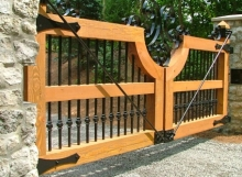 handmade wood gate ohio