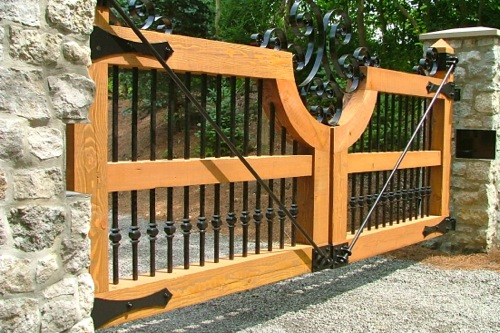 Driveway Gates - Finelli Ironworks