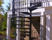 finelli architectural iron and stairs handmade custom wood staircase in cleveland ohio