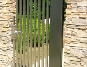 finelli architectural iron and stairs custom unique handmade contemporary design steel outdoor garden gate in gates mills ohio