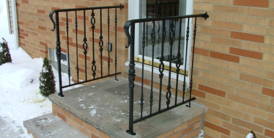 Exterior Traditional Railings Archives Finelli Ironworks