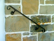 finelli architectural iron and stairs custom exterior iron wall railing in hunting valley ohio