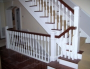 retrofit staircase interior