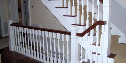 retrofit staircase interior