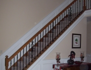 custom iron staircase remodel