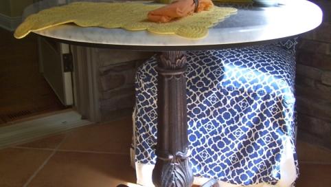 finelli iron custom handmade rustic table base in columbus ohio