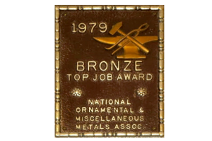 1979 // Bronze - Stair/Railing Complete