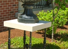 finelli architectural iron and stairs custom handmade wrought iron table base in columbus ohio