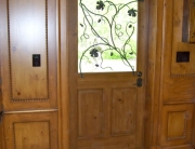 finelli iron works custom handmade forged steel and iron door/window grille in columbus ohio