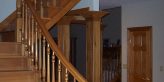 Retrofit staircase