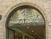 handmade transom arch
