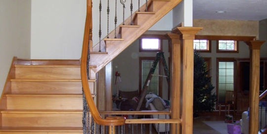 retrofit staircase project