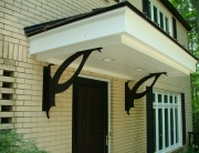 Finelli Architectural Iron and Stairs custom wrought iron bracket in shaker heights ohio