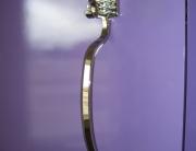 finelli iron works handmade unique design custom chrome plated toothbrush door handle in bay ohio