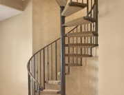 Handmade Iron Spiral Staircase