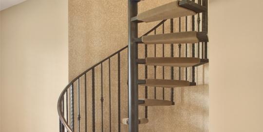 Handmade Iron Spiral Staircase