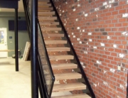 finelli custom garage staircase