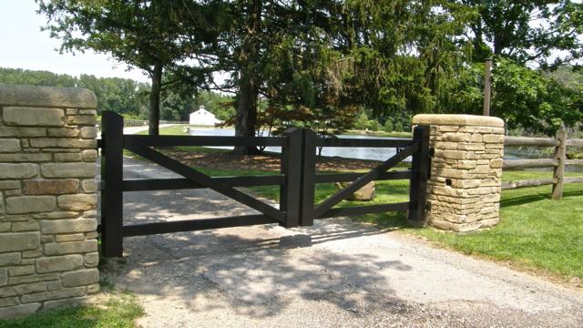 Driveway Gates Finelli Ironworks, Farm Style Driveway Gates