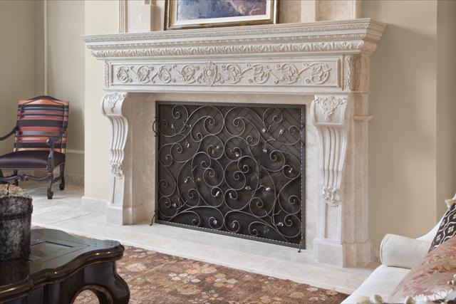 Fireplace Finelli Ironworks