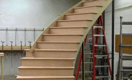 finelli architectural iron and stairs custom handmade wood staircase and treads in cleveland ohio