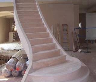 custom handmade woodwork staircase