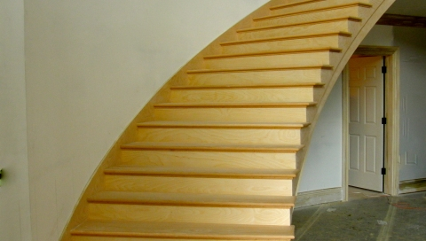 finelli architectural iron and stairs handmade custom wood staircase in chagrin falls ohio