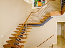 Finelli Iron custom handmade wire cable staircase
