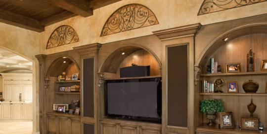 Finelli Architectural Iron and Stairs custom decorative iron arches handmade in cleveland ohio