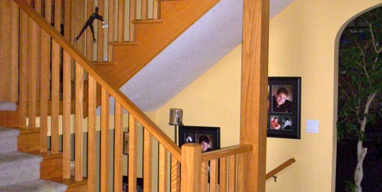 fanelli custom ironworks retrofit iron staircase