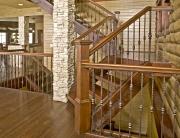 fanelli custom ironworks decorative retrofit iron staircase