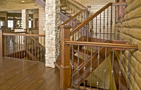 fanelli custom ironworks decorative retrofit iron staircase