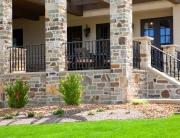 Finelli iron works custom porch railing in chagrin falls ohio