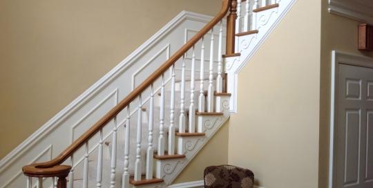 fanelli custom ironworks retrofit staircase