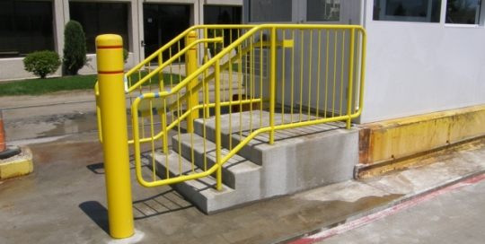Finelli architectural iron and stairs custom commercial grade wrought iron guard railing in solon ohio