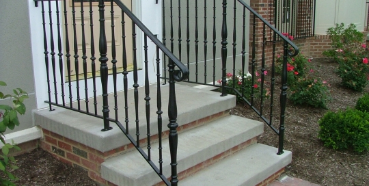 Finelli Ironworks Stoop And Step Railings Archives Finelli Ironworks