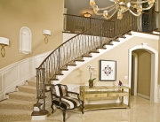 Fanelli Custom Wood and Iron Staircase Cleveland Ohio