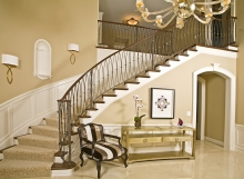 Fanelli Custom Wood and Iron Staircase Cleveland Ohio