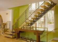 Finelli architectural iron and stairs unique handmade contemporary iron staircase and railing in hunting valley ohio