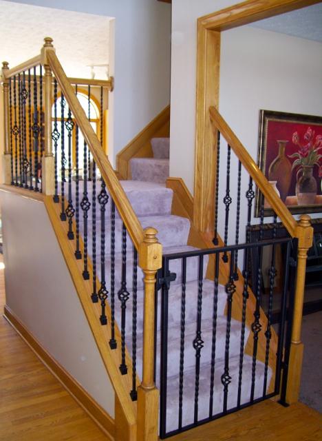 Custom Staircase Gate