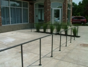 Finelli Ironworks Custom iron frame rail fence handmade in cleveland ohio