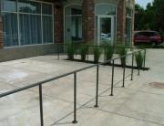 Finelli Ironworks Custom iron frame rail fence handmade in cleveland ohio