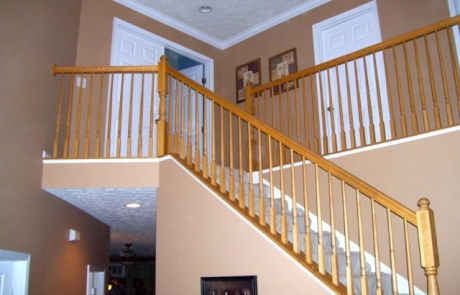 Finelli Architectural Iron and Staircases custom railing remodel in northeast ohio