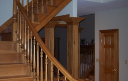 Finelli Architectural Iron and Stairs custom staircase remodel in cleveland ohio