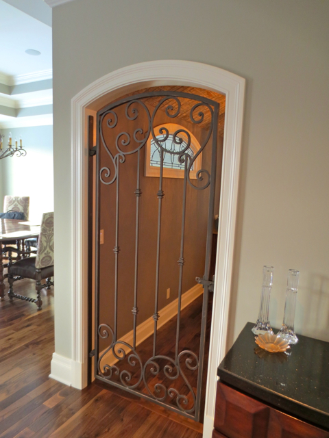 Finelli Ironworks Custom Interior Iron Gate In Columbus Ohio