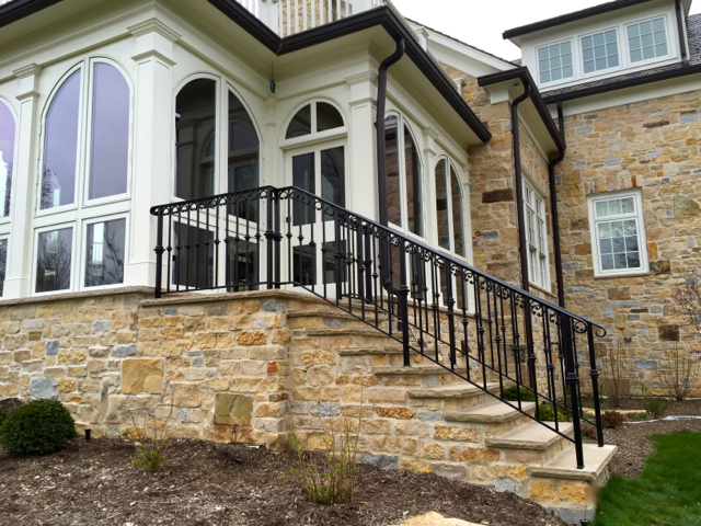 Exterior Traditional Railings Finelli Ironworks
