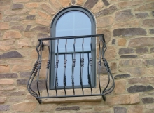 finelli ironworks custom window balcony in columbus ohio